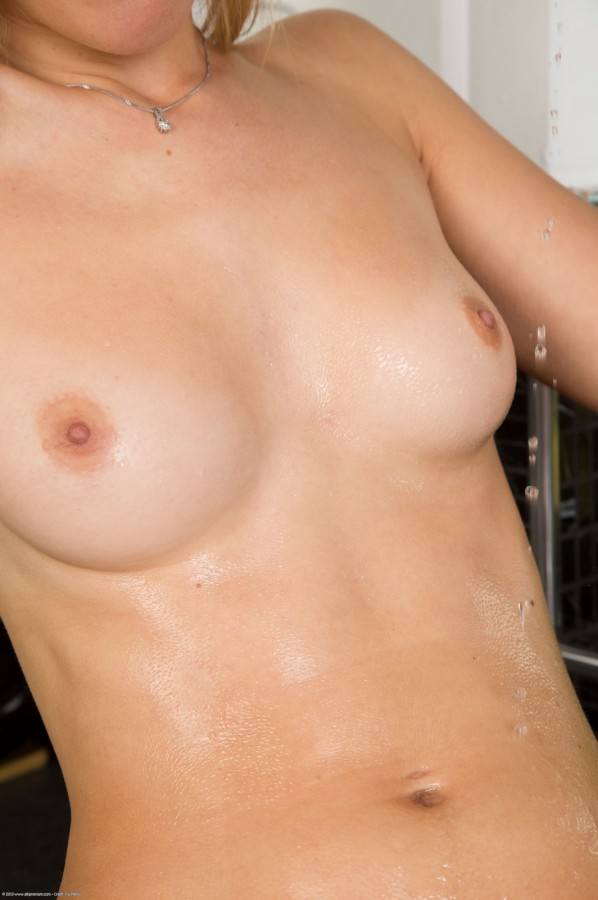 Wet T Shirt in the Kitchen